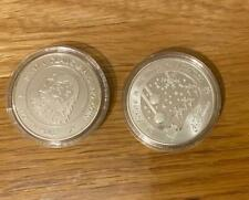 New Large Santa Claus Wishing Coin & Gift Bag Father Christmas Stocking Filler