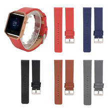 Luxury Leather Watch Wrist Band Replacement Strap for Blaze Smart Watch