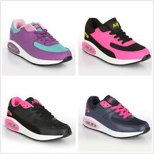 Ladies Running Trainers Womens Shock Absorbing Gym Sports Shoes Size UK 3: 8