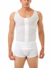 POST SURGICAL GYNECOMASTIA/MASTECTOMY VEST DOUBLE LAYER MADE IN THE USA