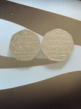Johnsons Dictionary 50p Extremely Rare - Set Of 2