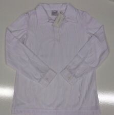 Classics womens long sleeve collared v-neck blouse top sizes 12 - 24 32667