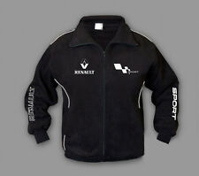 Neu Herren RENAULT SPORT Fleece Jacke Power Sport