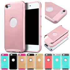 For Apple iPod Touch 5 6 Gen Case Rugged Rubber Shockproof Protective Cover Skin