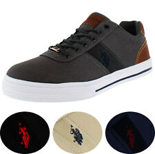 U.S. Polo Assn. Helm Men's Canvas Fashion Sneakers