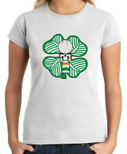 T-shirt Donna TUM0014 ultras celtic green brigate