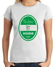 T-shirt Donna WC0652 World Cup Football - Algeria
