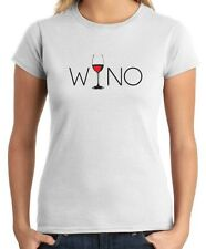 T-shirt Donna BEER0302 Wino Wine Lover Glass