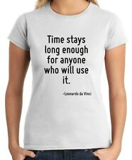 T-shirt Donna CIT0237 Time stays long enough for anyone who will use it.