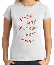 T-shirt Donna TB0135 this gal rides her own