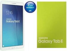 UK Stock Brand New Samsung Galaxy Tab E 9.6 Inch 8GB Wi-Fi Android Tablet White