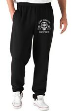 Pantaloni Tuta TB0352 motorcycle racing skull and old school bike