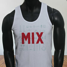 Mix and Master Audio Engineer Producer Artist EDM Mens White Tank Top