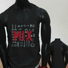 Mix and Master Audio Engineer Producer Artist EDM Mens Black Sports Tank Top