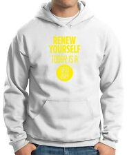 Felpa Hoodie CIT0187 renew yourself today is a new day