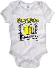 Baby Rib Body neonato T0282 Save water drink beer Oktoberfest Party
