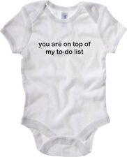 Baby Rib Body neonato fun happiness TDM00305 you are on top on my to do list