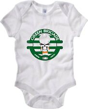 Body neonato TUM0011 ultras celtic green brigate