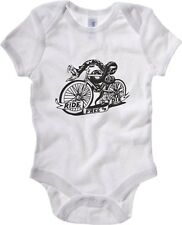 Body neonato FUN0154 06 19 2013 Snake Bike T SHIRT det