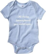 Body neonato T0946 mi basta immaginarti per averti qua fun cool geek