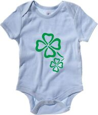 Body neonato TIR0183 shamrocks dark tshirt