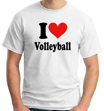 T-shirt TLOVE0010 i heart volleyball