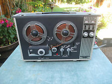 AKAI ST-1 STEREO REEL TO REEL TAPE RECORDER. TESTED WORKING.