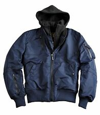 ALPHA INDUSTRIES Flieger Jacke Oxygen II repl. blue