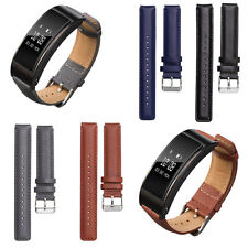 Classic Genuine Leather Watch Band Replace Wrist Strap for Huawei TalkBand B3