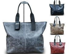 Made in Italy Luxus Damen Borsa A Tracolla Shopper Donna Bella Pelle