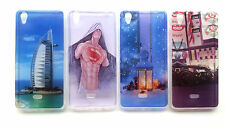 DESIGNER SOFT RUBBERIZED BACK CASE COVER FOR RELIANCE LYF WATER 5