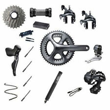 Shimano Ultegra Di2 6870 11 Speed 39/53 Groupset - Grey - Cycling Components