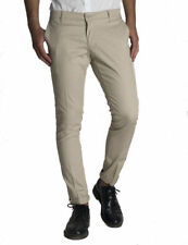 Pantalone uomo slim fit cotone tessuto cannette' tasca america made in italy