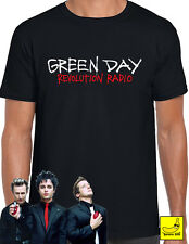 Green Day Revolution Radio T-Shirt 2017 Tour Dookie American Idiot Welcome Tee