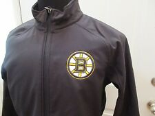 Brand New Reebok Youth Boston Bruins Black Full Zip Softshell Jacket Youth S-XL