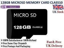 128GB Micro SD Card Class 10 TF Flash Memory SDHC - 128G - NEW UK with Adapter