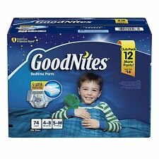 GoodNites Bedtime Underwear for Boys PICK SIZE & QUANTITY