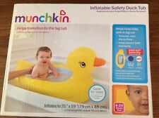 Inflatable Safety Duck Tub Baby Infant Bath Play Hot Safety Disc Travel (550451)