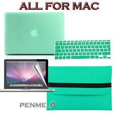 Light green Frosted Matte Rubberized Hardshell Hard Case Cover For Apple MacBook