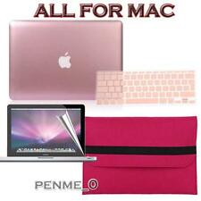 Rose Gold Frosted Matte Rubberized Hardshell Hard Case Cover For Apple MacBook
