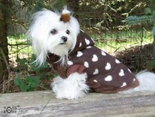 Pull pour chien, Manteau pour chien, Manteau pour chien LOVELY BROWN