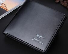 Mens Wallet Septwolve Brand Leather wallet Imported Bifold Wallet Purse