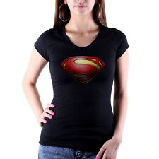 fille Super tee-shirt hero superman dc sexy Lady-Fit Comic HÉROS HÉROS NEUF