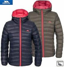 New Trespass Womens ADORED Ladies Padded Down Feather Jacket Lightweight Hooded