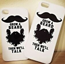Grow a beard than we will talk case cover for iphone redmi xioami samsung more..