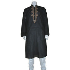 MEN INDIAN DESIGNER BOLLYWOOD KURTA SHERWANI 2pc SUIT (WORLDWIDE POSTAGE)