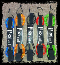 Surfboard Leash 6ft 7ft 8ft 9ft 10ft sup surf Accessories & Leash String New!