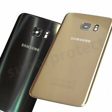 Genuine Samsung Galaxy S7 G930F Rear Back Glass Battery Cover Camera Panel lens