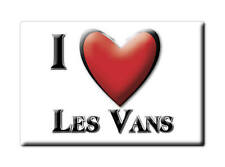 MAGNETS FRANCE - LANGUEDOC ROUSSILLON AIMANT I LOVE LES VANS  (ARDÈCHE)