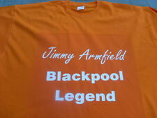 Blackpool Cult Hero T-Shirt Jimmy Armfield Ball Matthews 4 5xl Christmas Gift
